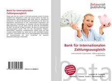 Portada del libro de Bank für Internationalen Zahlungsausgleich