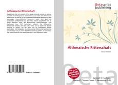 Buchcover von Althessische Ritterschaft
