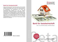 Bank für Sozialwirtschaft kitap kapağı