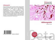 Capa do livro de Althengstett