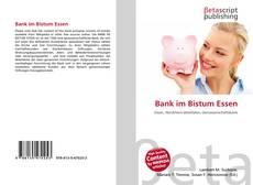 Buchcover von Bank im Bistum Essen