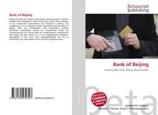 Capa do livro de Bank of Beijing