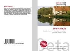 Portada del libro de Bois-Arnault