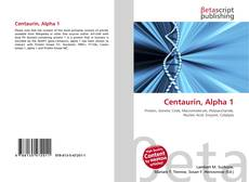 Bookcover of Centaurin, Alpha 1