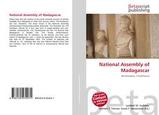 Bookcover of National Assembly of Madagascar