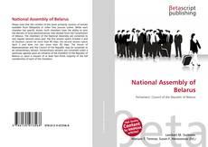 Couverture de National Assembly of Belarus