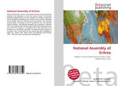 Bookcover of National Assembly of Eritrea