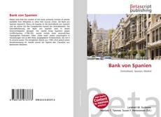 Bookcover of Bank von Spanien