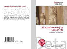 Capa do livro de National Assembly of Cape Verde
