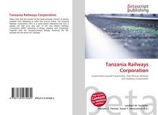 Tanzania Railways Corporation kitap kapağı