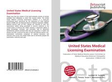 Couverture de United States Medical Licensing Examination