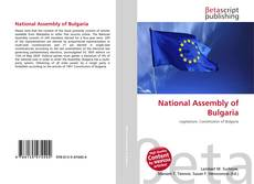 Couverture de National Assembly of Bulgaria
