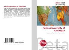 Capa do livro de National Assembly of Azerbaijan