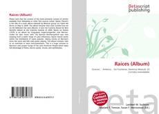 Capa do livro de Raíces (Album)