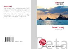 Bookcover of Soviet Navy