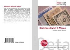 Buchcover von Bankhaus Bondi & Maron