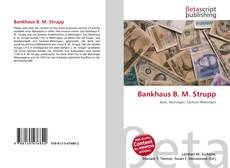 Bookcover of Bankhaus B. M. Strupp