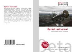 Обложка Optical Instrument