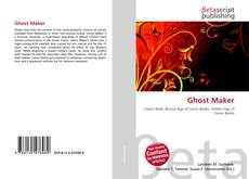 Bookcover of Ghost Maker