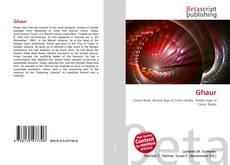 Ghaur kitap kapağı