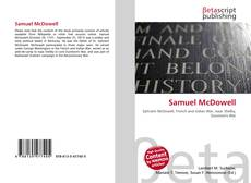 Bookcover of Samuel McDowell