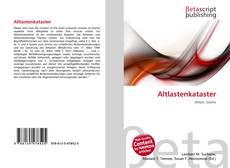 Bookcover of Altlastenkataster