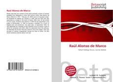 Copertina di Raúl Alonso de Marco