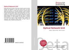 Portada del libro de Optical Network Unit