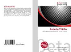 Bookcover of Roberto Vitiello