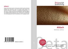 Bookcover of Altlach