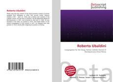 Buchcover von Roberto Ubaldini