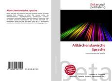 Buchcover von Altkirchenslawische Sprache
