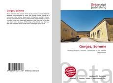 Buchcover von Gorges, Somme