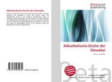 Altkatholische Kirche der Slowakei的封面
