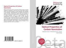 Capa do livro de Optical Properties of Carbon Nanotubes