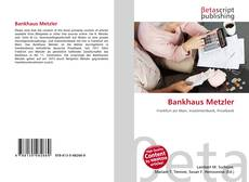 Bankhaus Metzler kitap kapağı