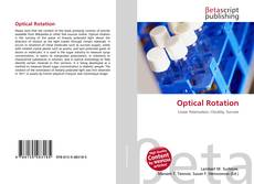 Bookcover of Optical Rotation