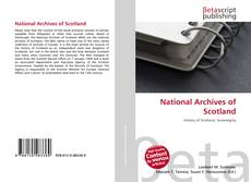 Bookcover of National Archives of Scotland