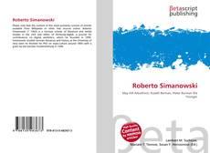 Bookcover of Roberto Simanowski