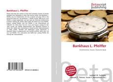 Borítókép a  Bankhaus L. Pfeiffer - hoz