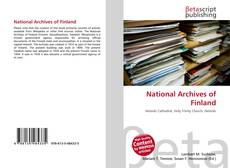Copertina di National Archives of Finland