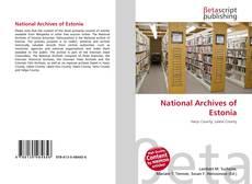 National Archives of Estonia kitap kapağı