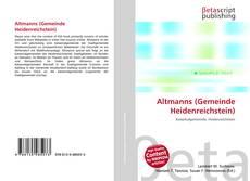 Buchcover von Altmanns (Gemeinde Heidenreichstein)