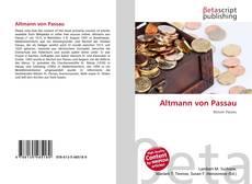 Bookcover of Altmann von Passau