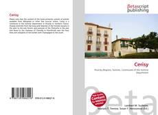 Bookcover of Cerisy