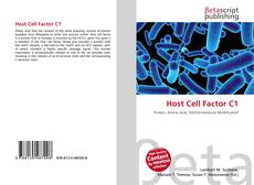 Capa do livro de Host Cell Factor C1