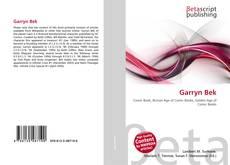 Buchcover von Garryn Bek