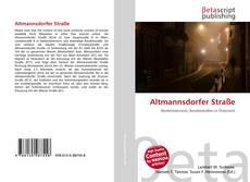 Capa do livro de Altmannsdorfer Straße