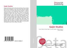 Capa do livro de Gaijin Studios