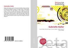 Capa do livro de Gabrielle Haller